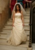 Lace bridal gown by La Sposa, May 2009