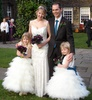 Bespoke bridal and bridesmaids dresses, Feb 2009