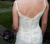 Bespoke lace and beaded tulle bridal gown, Feb 2009