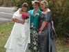 Special Day bridal gown, bespoke mother of the bride and bridesmaids dress,                         Oct 2010