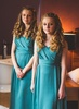 Bespoke taffeta bridesmaids dresses, Nov 2012